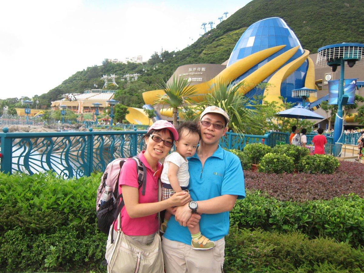 三號風球下勇闖海洋公園
