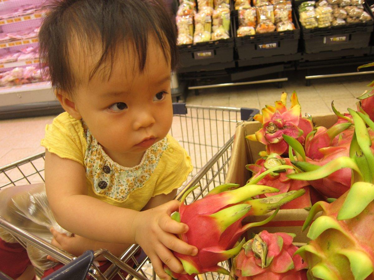 我愛火龍果:幼兒通便良方