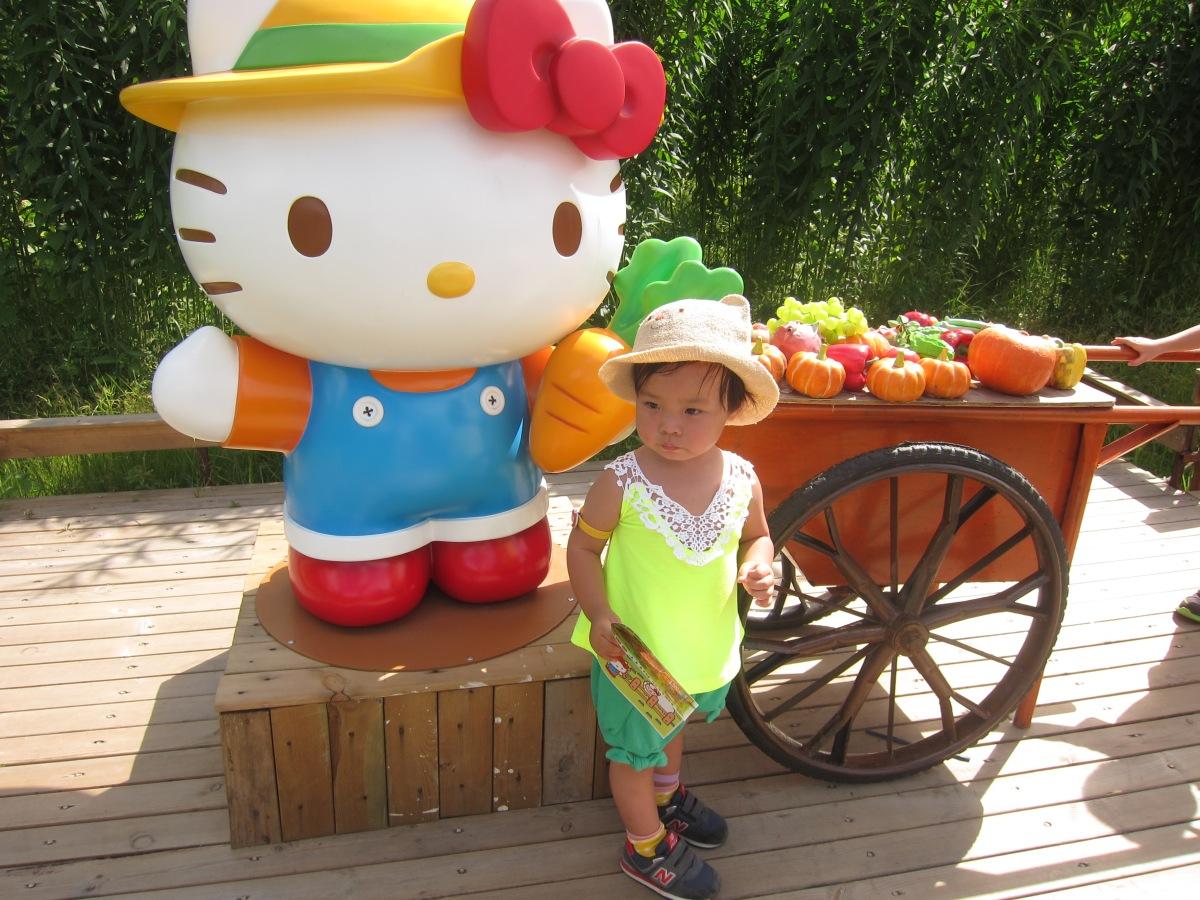 那些年,我們一起追的女孩寵兒:遊Hello Kitty農莊