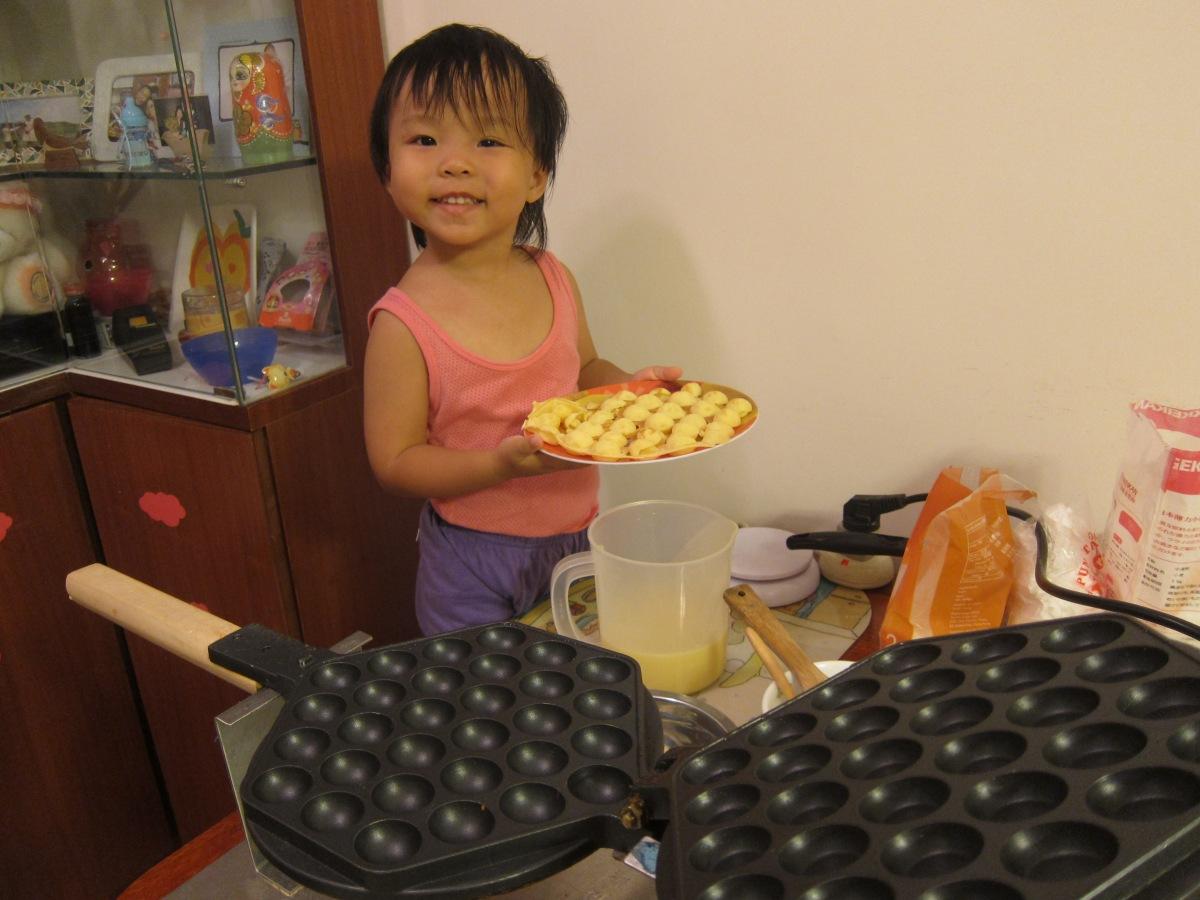 咬一口香港味:自家製雞蛋仔