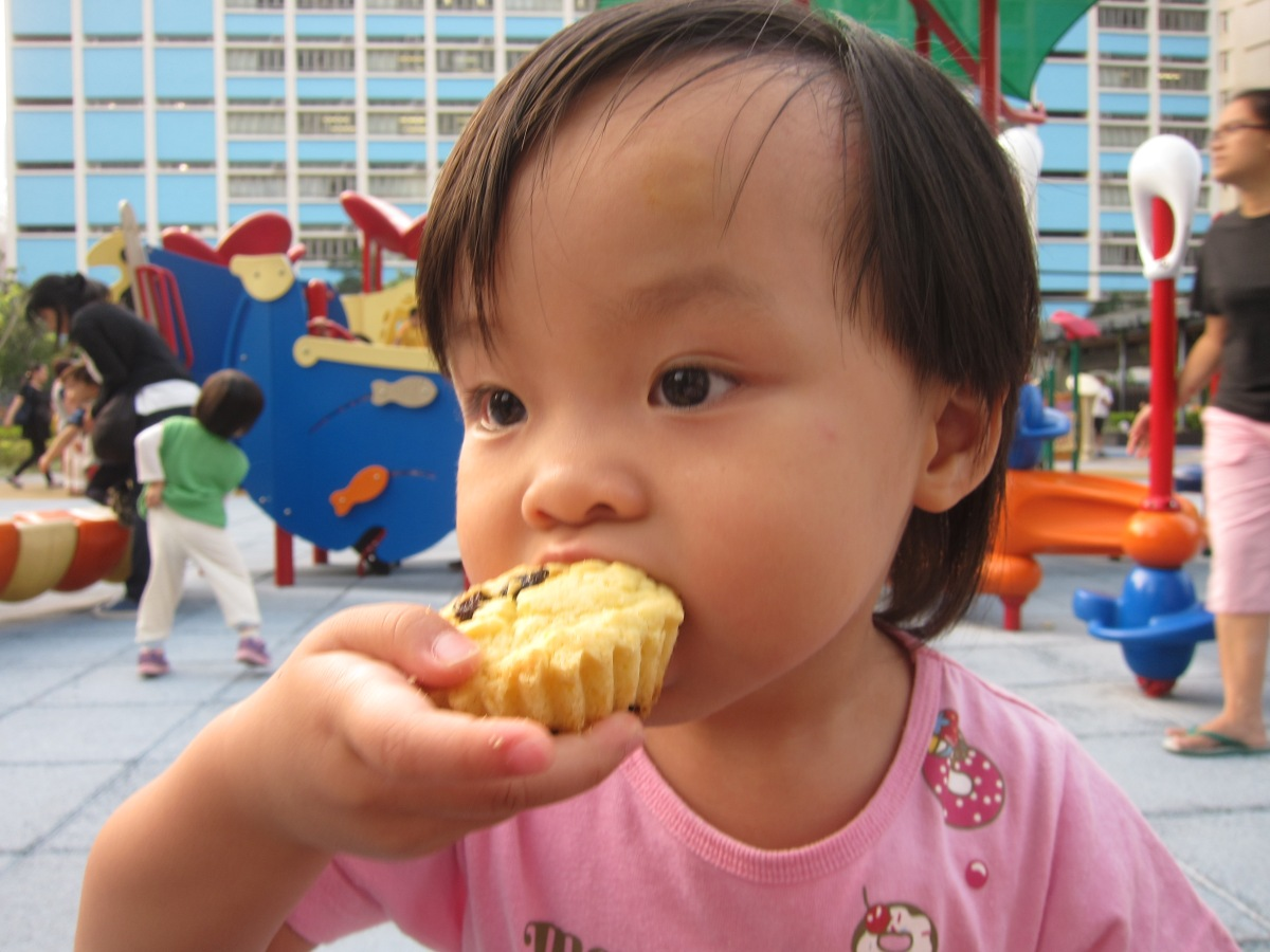 小人兒下課小吃至愛:皇后小蛋糕