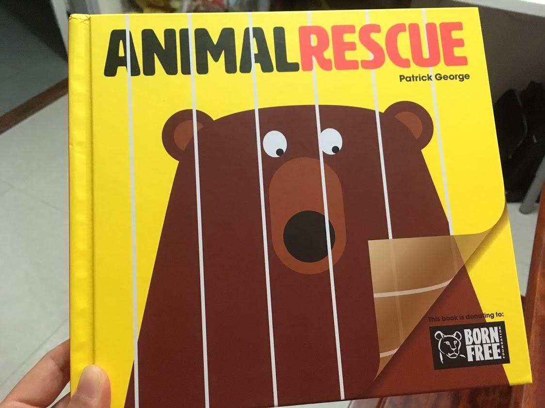 有小小感動的幼兒無字繪本《Animal Rescue》