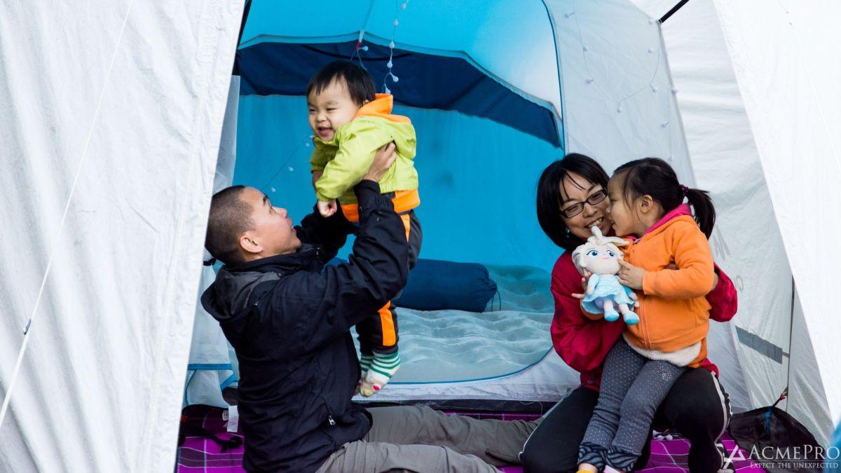 有小小感動的親子華麗露營:Glamping@AcmePro