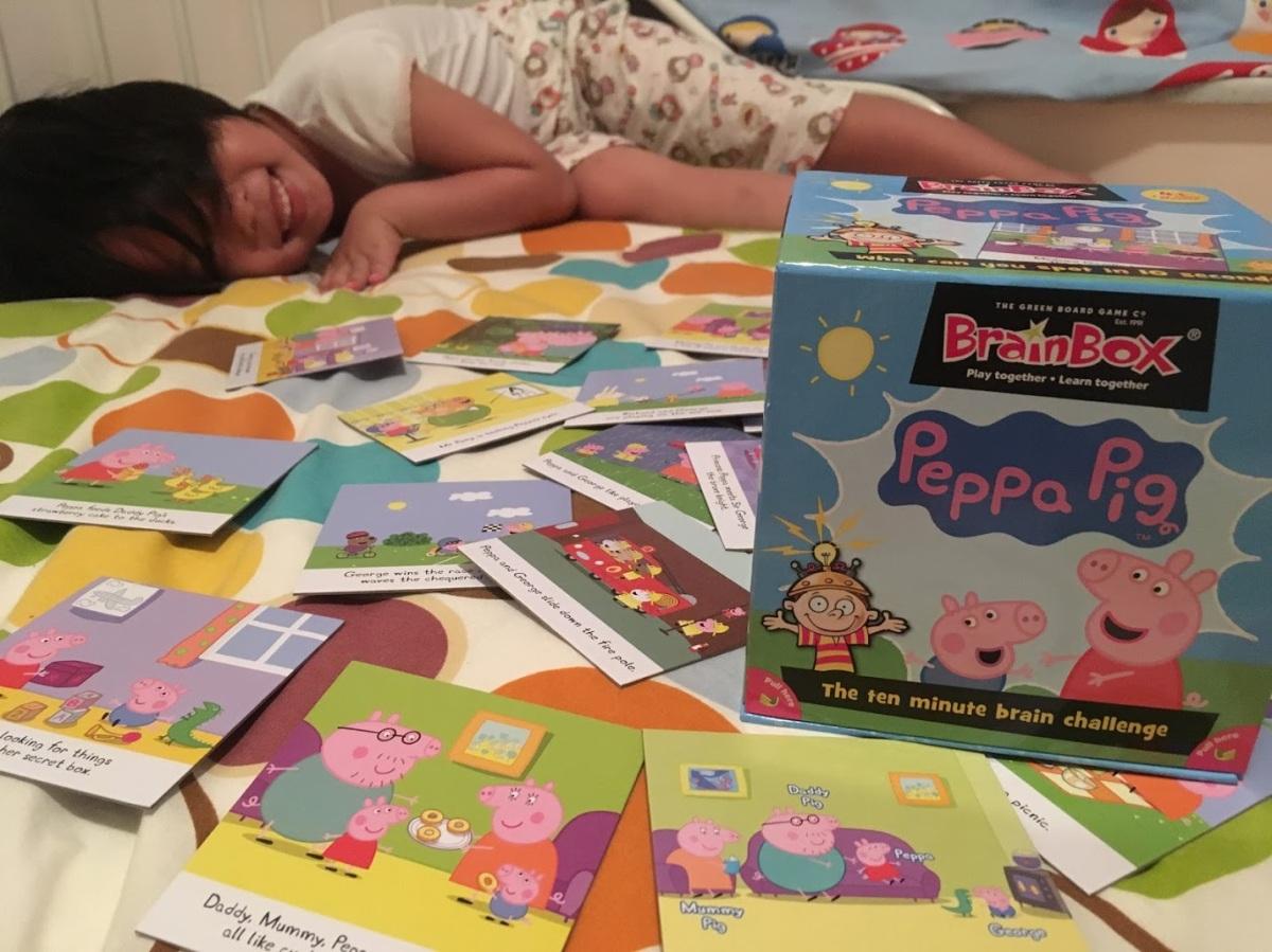 英國人的大腦小盒子:BrainBox Peppa Pig