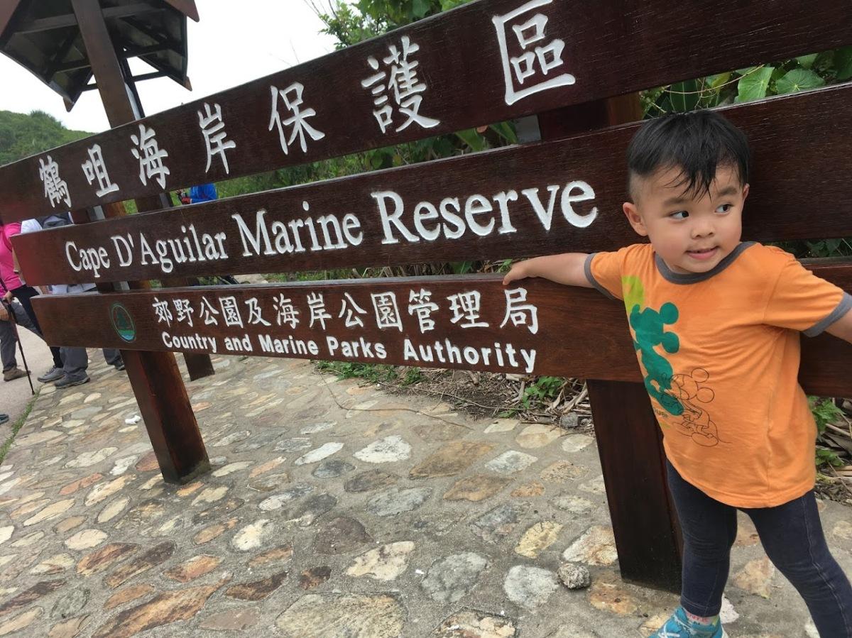 港島燈塔奇洞小探險:鶴咀海岸保護區
