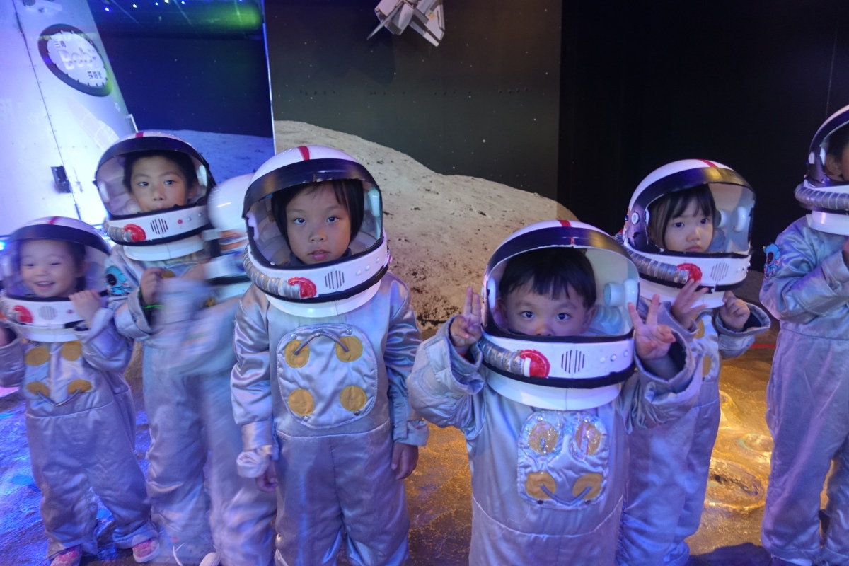跟著兩小玩打工體驗:台北BabyBoss