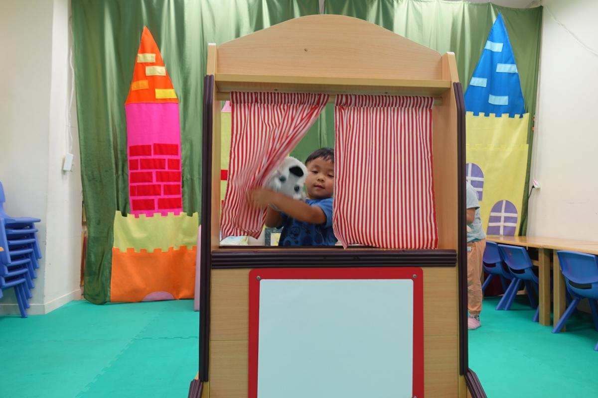 愛孩子的初心:台北萬華親子館