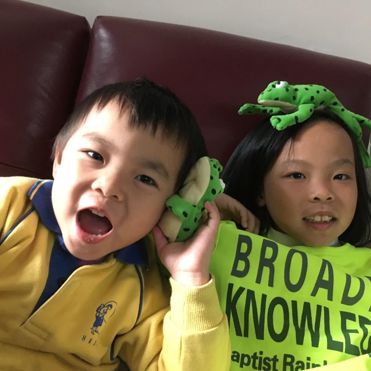 帶孩子「貼地」學英語:西貢體育會英語體驗營